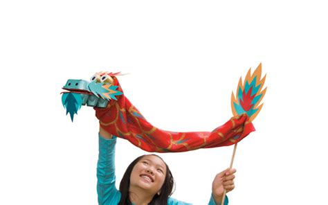 Recycle Home Decor Ideas by Chinese Dragon Puppet Kid Craft Craft Passion