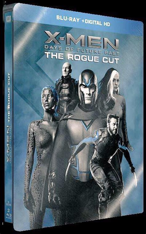 x men days of future past directors cut coming to blu ray this year x men days of future past rogue cut steelbook case revealed