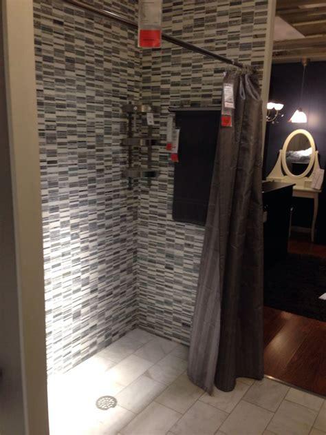 ikea bathroom shower ikea tiled shower bathrooms pinterest