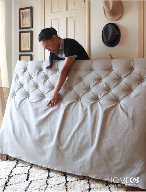 come fare una testata letto come realizzare una testata letto imbottita fai da te