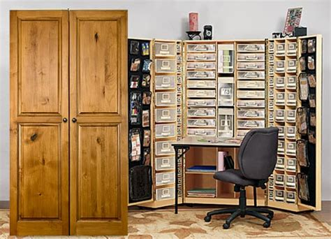 craft storage cabinets with every creative s dream for art jewelry scrapbooking