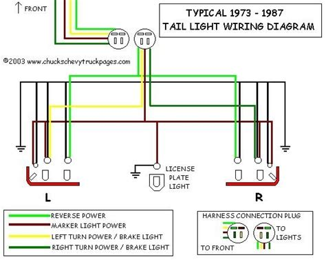 light wiring diagram for chevy truck new wiring