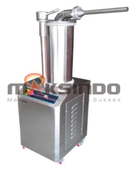 Mesin Pembuat Sosis Atau Pencetak Sosis Manual Sausag Diskon jual mesin cetak sosis hidrolik mks hds280 di surabaya