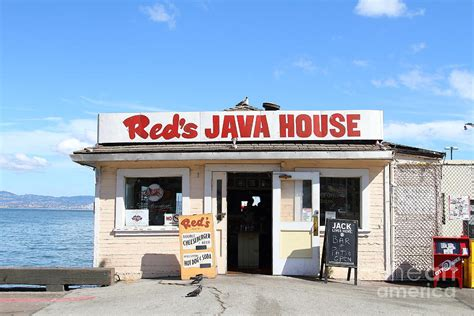 java house sf reds java house at san francisco embarcadero 7d7709 photograph by wingsdomain art