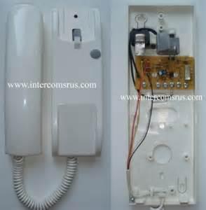 schema interphone urmet 1030