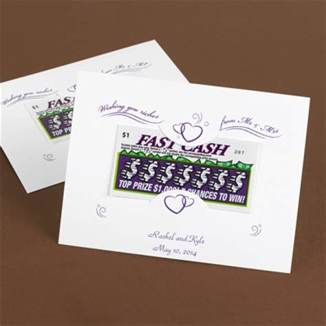 scratch card holder template lottery ticket wishing well wording just b cause