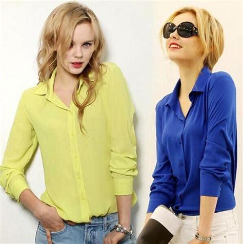 office blouse 5 work wear 2017 shirt chiffon tops