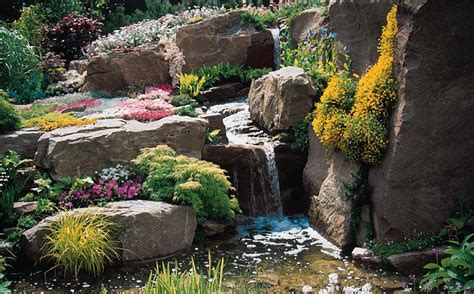 large rocks for gardens how to build a rock garden padstyle interior design