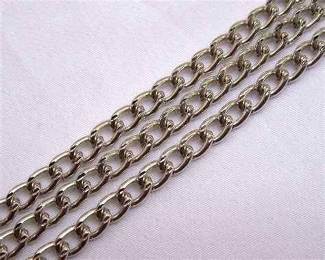 jewelry supplies chain 6ft aluminum curb chain 3mm link jewelry supplies ac064