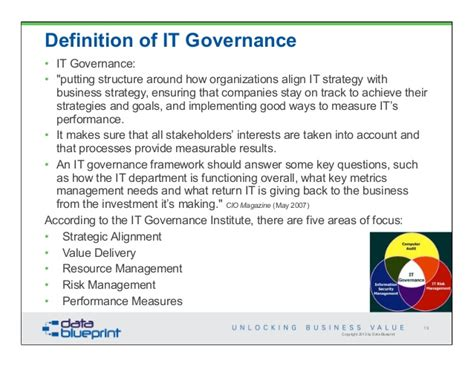 world bank definition of governance data ed unlock business value through data governance