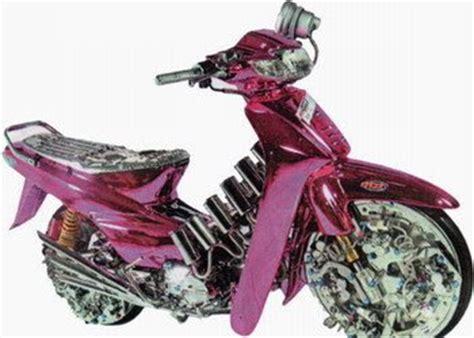 Lu Sorot Variasi Motor gambar modifikasi motor variasi honda supra x 2001