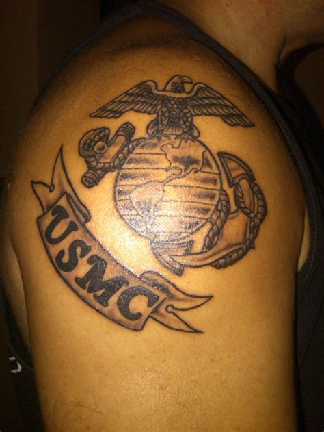 marine tattoo 1000 ideas about usmc tattoos on marine corps