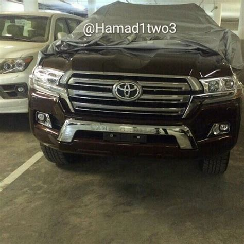 Injection Land Cruiser Vxr 2016 toyota land cruiser facelift shows its on