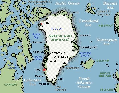 greenland map with cities greenland map and greenland satellite images