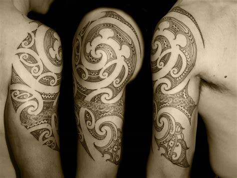30 Maori Arm Tattoos Collection Weeping 30 Cool Arm Tattoos For