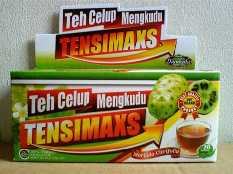 Teh Celup Mengkudu Tensimaxs Darusyifa darusyifa teh celup mengkudu tensimax alzafa store alzafa store