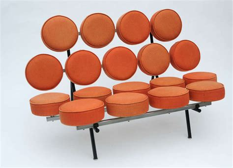 george nelson marshmallow sofa at 1stdibs