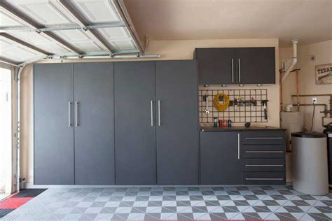 Granite Tall Cabinets   Dream Garage by Auto Details