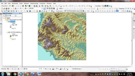 membuat layout peta dengan arcgis 10 membuat efek 3d dengan hillshade pada arcgis 10 3