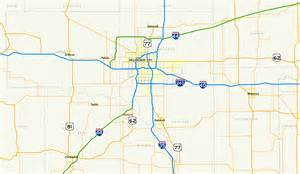 road map of and oklahoma file oklahoma state highway 130 map png wikimedia commons