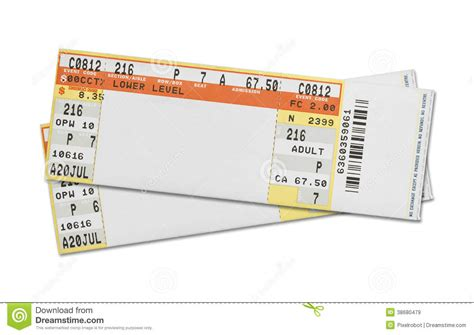 template concert ticket template