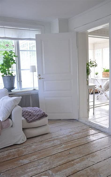 White Painted Wood Floors by Reclaimed Wood Flooring An Eco Friendly Option That