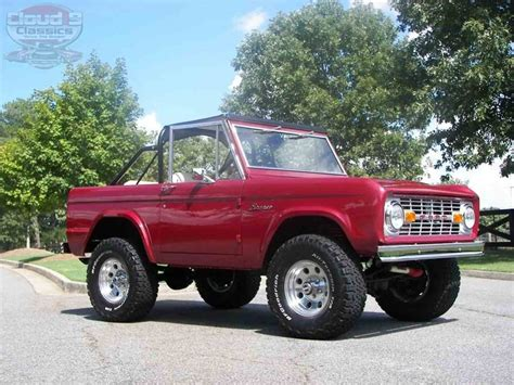 ford bronco for sale 1969 ford bronco for sale classiccars cc 1060839