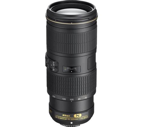 Lensa Telephoto Zoom Nikon nikon af s nikkor 70 200 mm f 4 g ed vr telephoto zoom lens deals pc world