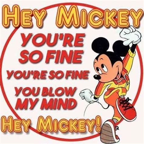 Hey You Re So Garage by Hey Mickey You Re So You Re So You Mi