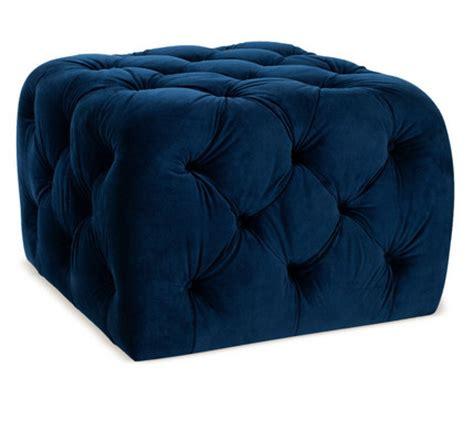 blue velvet ottoman blue velvet tufted ottoman bing images
