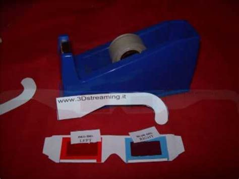 How To Make 3d Glasses Out Of Paper - how to make 3d glasses by yourself anaglyph by