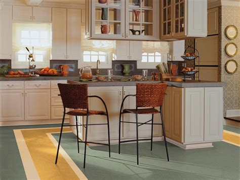 linoleum kitchen flooring linoleum flooring in the kitchen hgtv