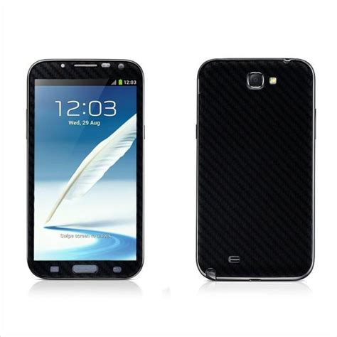 Samsung Note Edge Black Second Terawat samsung galaxy note 2 black carbon fibre skin easyskinz