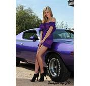 See Through Purple Dress Fits Car  Sexy
