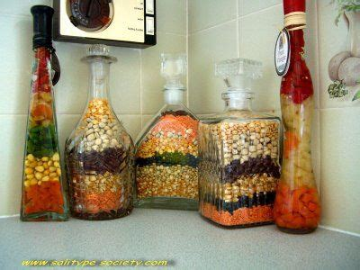 Decorative Purposes by Layered Food In Jar For Decorative Purposes Bottles For