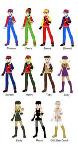 thomas and friends pokemon trainer version by