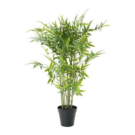 Ikea Rimforsa Keranjang Bambu fejka tanaman tiruan dalam pot ikea