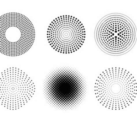 coreldraw halftone pattern vector dots and halftone pattern vector art ai svg eps