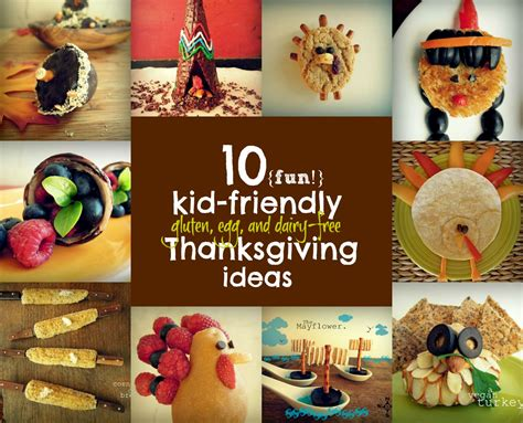 kid  allergy friendly thanksgiving ideas fork