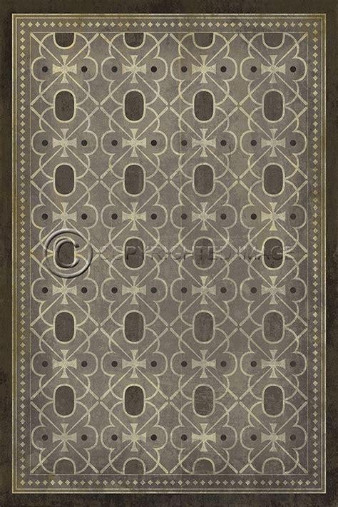 Spicher and Company Vintage Vinyl Floor Cloths Baker