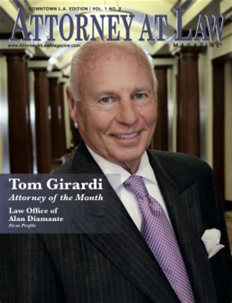 attorney thomas girardi net worth tom girardi named los angeles attorney of the month