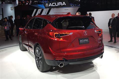 2019 Honda Acura by 2019 Acura Rdx Offers Glimpse Of Upcoming Honda Tech Autocar