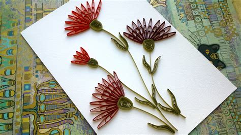 paper quilling tutorial with comb quilling flowers tutorial quilling flowers carnation wiht