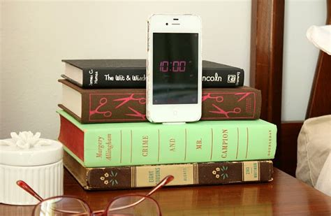 charging station ideas diy upcycled book charging station decoist