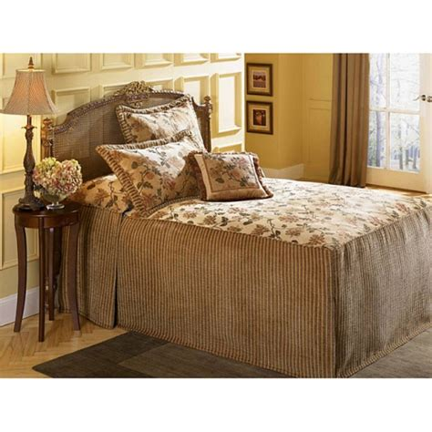 queen size bed spreads susanna queen size 7 piece bedspread set by seasons textiles