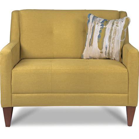 La Z Boy Verve Mid Century Modern Chair And A Half With Mid Century Modern Furniture La