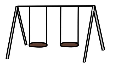 swing set cartoon picture of a swing set cliparts co