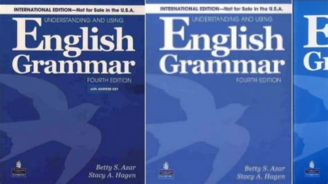 Understanding And Using Grammar 2nd Ed understanding and using grammar 4th edition by betty schrfer azar and a hagen