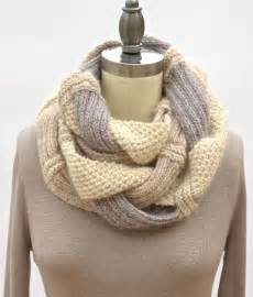 Knit Infinity Scarf Patterns Challah Infinity Scarf By Pam Powers Knits Knitting Pattern