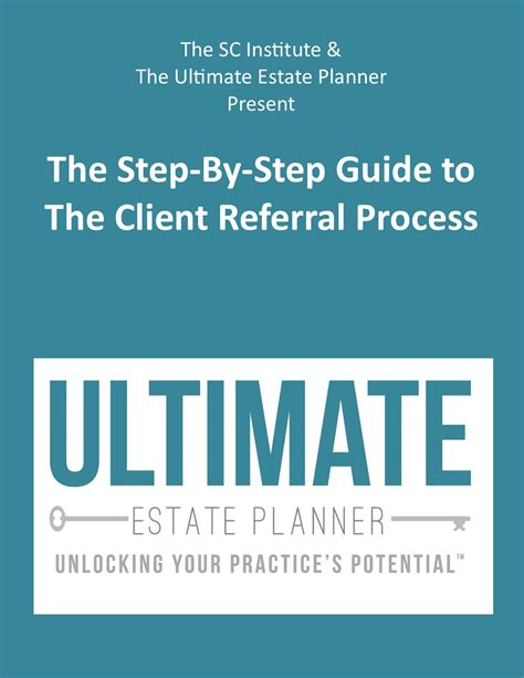 step by step process for sending customer or vendor master client forms handouts ultimate estate planner